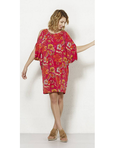 1 Robe Maille 96% Polyester 4% Elasthanne