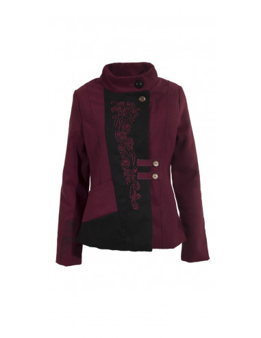 Jacket 90%Polyester 8%Viscose 2%Elasthan
